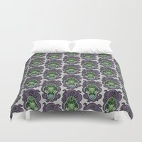 cthulhu Duvet Covers featuring Cthulhu by AvisNoctem