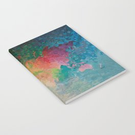 Recycled Color World Map Notebook