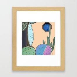 Cactus Lover Framed Art Print