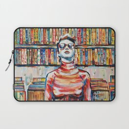 Vhs Vinilos Revisited Laptop Sleeve