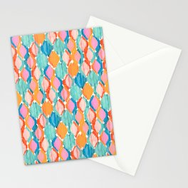 marmalade balinese ikat mini Stationery Cards