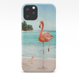 WANNABE FLAMINGO iPhone Case