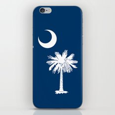 Flag of South Carolina - High Quality image iPhone & iPod Skin