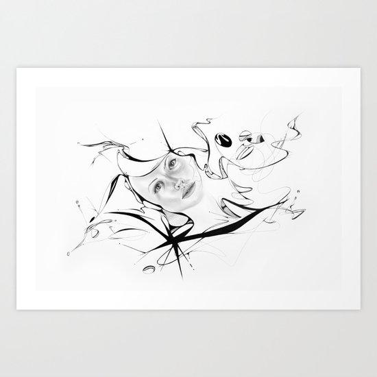 Line 4 Art Print