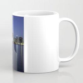 Chicago Skyline Dusk Panorama Coffee Mug
