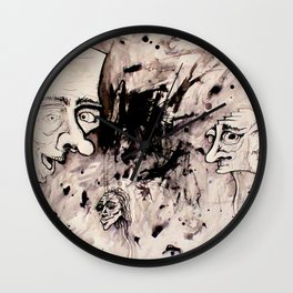 Chaos Shows Details Wall Clock