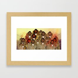 Moncler's Magical Johnson Framed Art Print