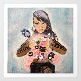 Inner Child Superstar Art Print