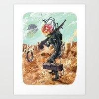 Prometheus Art Print