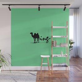 Green Humping Wall Mural