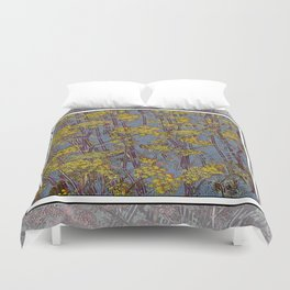 MAGIC DILL WEED Duvet Cover