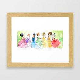 Put a rococo on it Framed Art Print