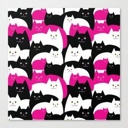 Fat Cats Canvas Print