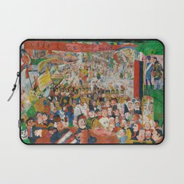 Christ's Entry into Brussels by James Ensor, 1889 Laptop Sleeve