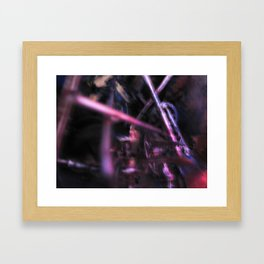 Glitch Space 6 Framed Art Print