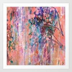 Hazy Willow Art Print