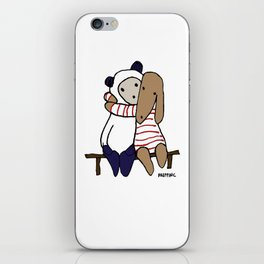 BB&P Hug iPhone Skin