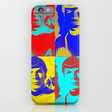 Science Officer Spock (Andy Warhol Remix) iPhone 6s Slim Case