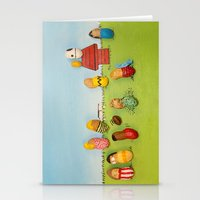 peanuts Stationery Cards featuring Real Peanuts by Phil Jones
