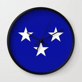 Moray county flag Wall Clock