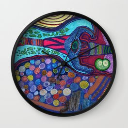 The Journey 2 Wall Clock