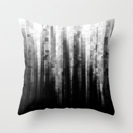Broken Pixels Throw Pillow
