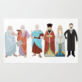 great philosophers from all times Rug