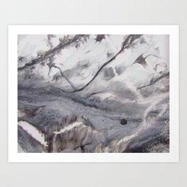 Monochrome 2 Art Print