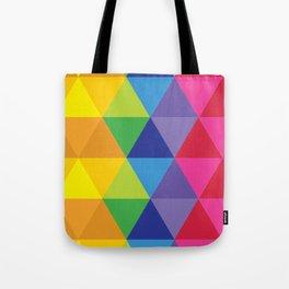 Rainbow Cosmic Universe Tote Bag