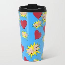 Love Hate Travel Mug