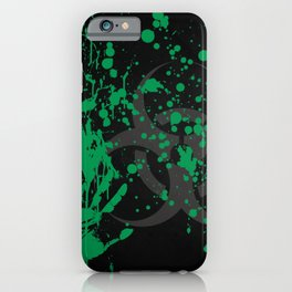 Alien Biohazard iPhone Case