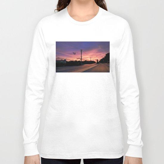 Miami Sunrise Long Sleeve T-shirt
