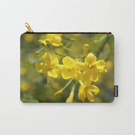 Fragrant Yellow Flowers Of Carolina Jasmine Carry-All Pouch