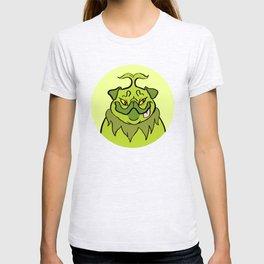 Christmas Nostalgia - Grinch Pug T-shirt
