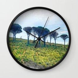 Trapani art 13 Sicily Wall Clock