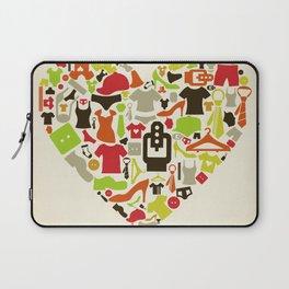 Heart clothes Laptop Sleeve