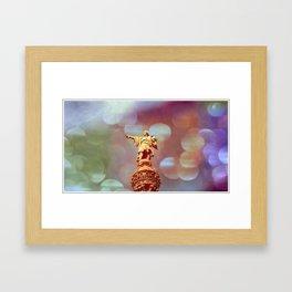 Columbus-Barcelona Framed Art Print