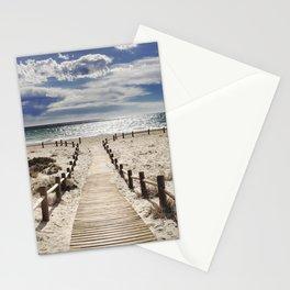 """""""Cabo de Gata"""". Square.  Retro serie Stationery Cards"""