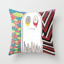 notalent//shameless -together- Throw Pillow