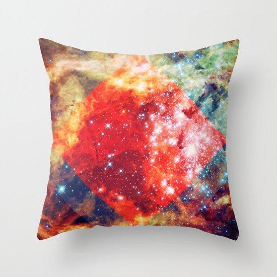 Stars on Fire Throw Pillow