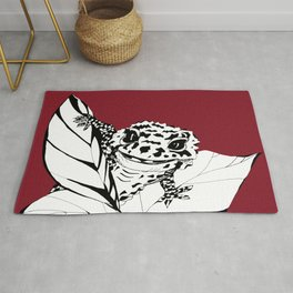 Cute Gecko Rug