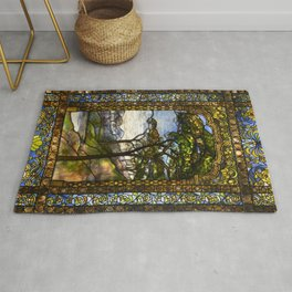 Louis Comfort Tiffany - Decorative stained glass 14. Rug