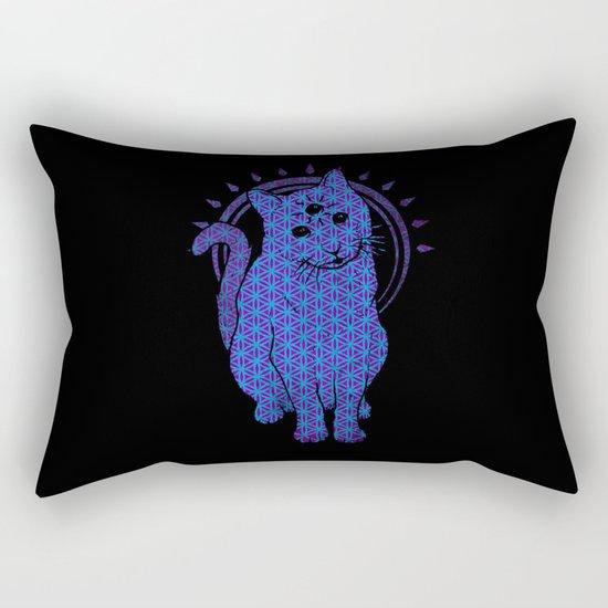Trippy Cat: 4 Rectangular Pillow