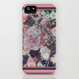 MAISON ORDINAIRE CARNATIONS iPhone Case