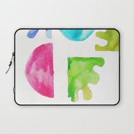 4 | Steady | 181111 November 2018 Shapes Studies | Watercolour Abstract Laptop Sleeve