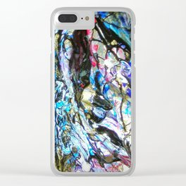 Au creux du feu 2 Clear iPhone Case
