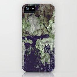 Grunge Camouflage Texture Print iPhone Case
