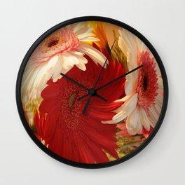 Twirly bouquet Wall Clock