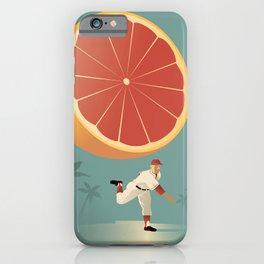 Grapefruit League iPhone Case
