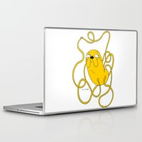 jake Laptop & iPad Skins featuring Jake by Katsenhakeron